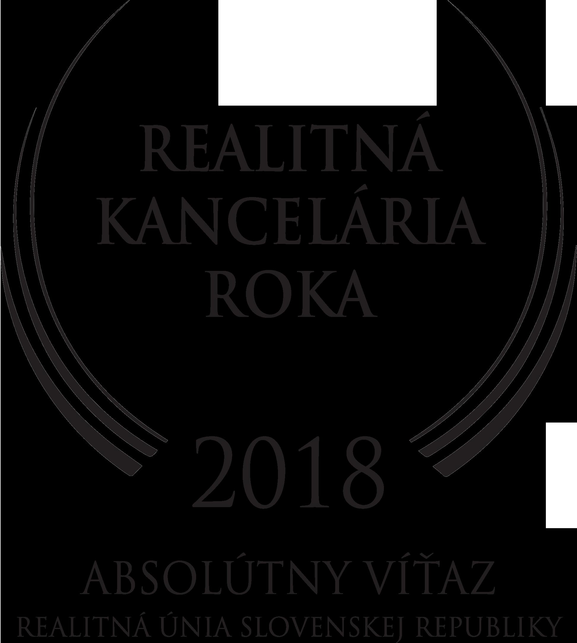 logo realitná kancelária roka