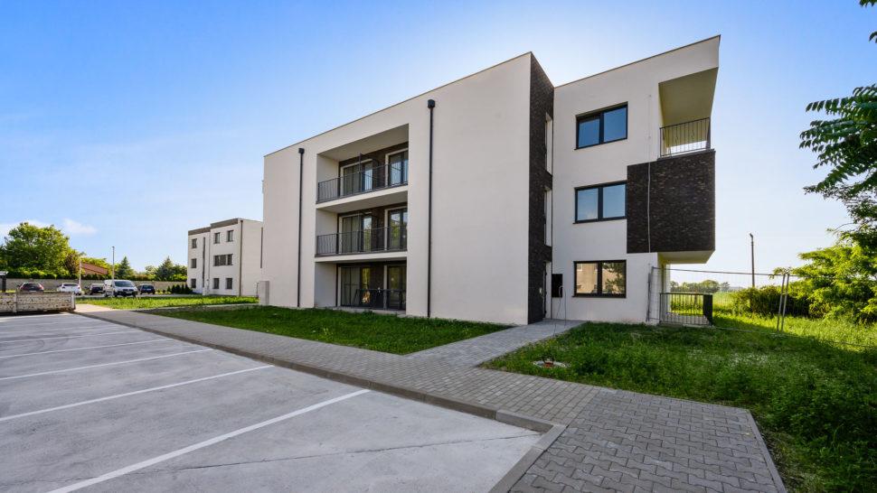 Projekt Novostavba 3 izbové byty Blatná naOstrove